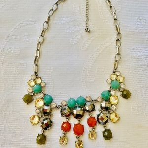 Anthropology Mermaid multi color necklace